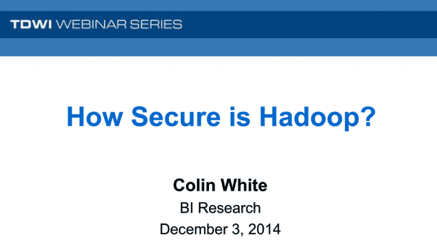 How Secure is Hadoop