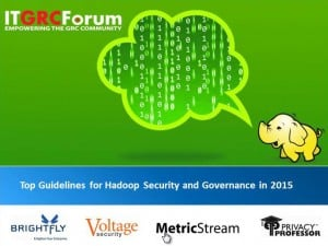 Top Guidelines for Hadoop Security and Governance in 2015