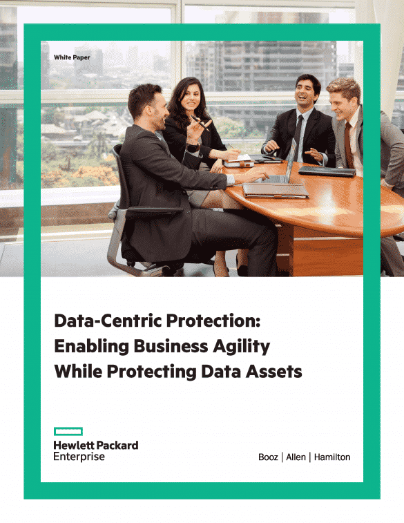 HPE-BAH Data Centric Protection White Paper